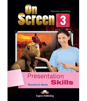 Книга для вчителя On screen 3 Presentation Skills Teacher's Book