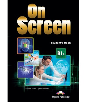 Підручник On screen B1+ Student's Book with Writing Book