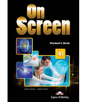 Підручник On Screen B1 Student's Book (with Digibooks App)