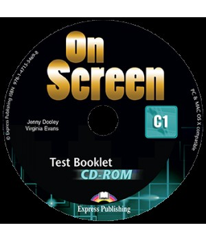 Диск On screen C1 Test Booklet CD-ROM