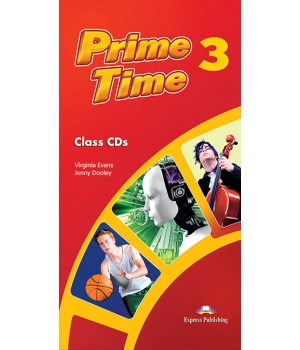 Диск Prime Time 3 Class Audio MP3 CD