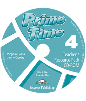 Диск Prime Time 4 Teacher's Resource Pack CD-ROM