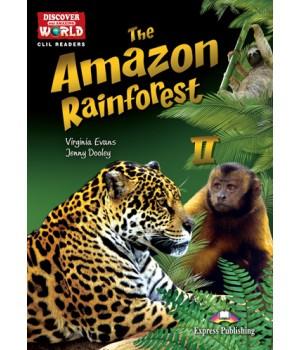 Книга для читання The Amazon Rainforest Level B1+/B2