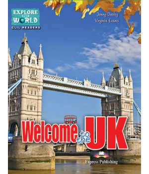 Книга для читання Welcome to the UK (level 4) Reader with DigiBooks App