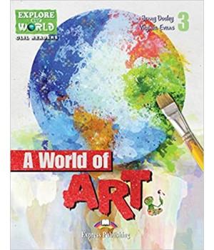 Книга для читання A World of Art (level 3) Reader with DigiBooks App