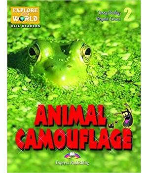 Книга для читання Animal Camouflage (level 2) Reader with DigiBooks App