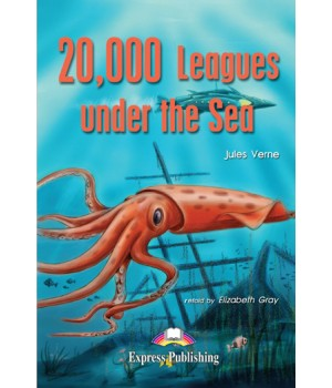 Книга для читання EGR Level 1 20 000 Leagues under the Sea Reader