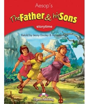 Книга для читання The Father and his Sons (Storytime Level 2) Reader