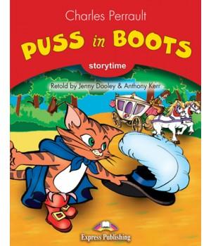Книга для читання Puss in Boots (Storytime Level 2) Reader with Application