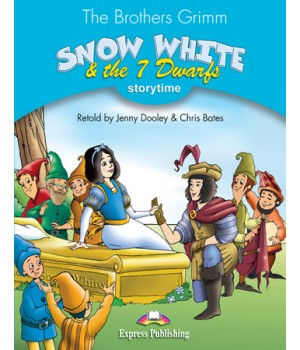 Книга для читання Snow White and the Seven Dwarfs (Storytime Level 1) Reader with Application