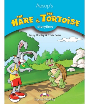 Книга для читання The Hare and The Tortoise (Storytime Level 1) Reader with Application