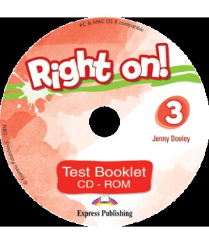 Диск Right On! 3 Test Booklet CD-ROM