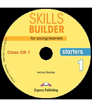 Диски Skills Builder Starters 1 Format 2017 Class CDs