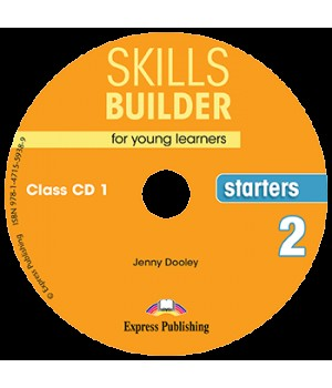 Диски Skills Builder Starters 2 Format 2017 Class CDs