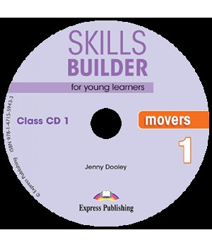 Диски Skills Builder Movers 1 Format 2017 Class CDs