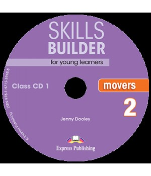 Диски Skills Builder Movers 2 Format 2017 Class CDs