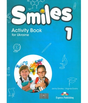 Рабочая тетрадь Smiles for Ukraine 1 Activity Book