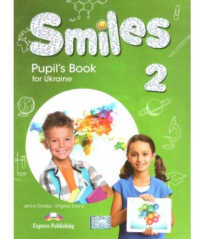 Підручник Smiles for Ukraine 2 Pupil's Book