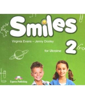 Диск Smiles for Ukraine 2 Class Audio CD