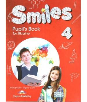Підручник Smiles for Ukraine 4 Pupil's Book