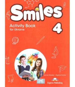 Робочий зошит Smiles for Ukraine 4 Activity Book
