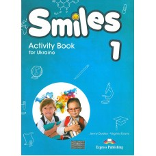 Smiles 1 for Ukraine Activity Book (with stickers & cards inside)