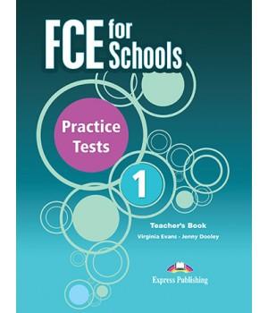 Книга для вчителя FCE for Schools Practice Tests 1 Teacher's Book