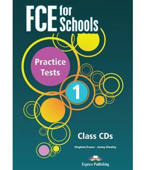 Диск FCE for Schools Practice Tests 1 MP3 CD