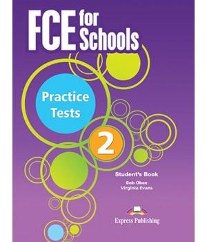 Учебник FCE for Schools Practice Tests 2 Student's Book