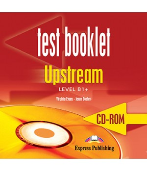 Диск Upstream B1+ Test booklet CD-Rom
