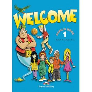 Учебник английского языка Welcome 1 Pupil's Book with Alphabet Book