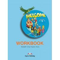 Рабочая тетрадь Welcome 1 Workbook