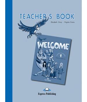 Книга для учителя Welcome 1 Teacher's Book