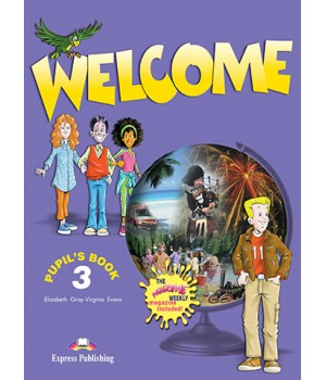 Підручник Welcome 3 Pupil's Book (& The Weekly)