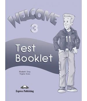 Тести Welcome 3 Test Booklet