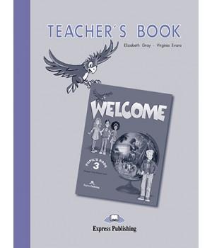 Книга для вчителя Welcome 3 Teacher's Book
