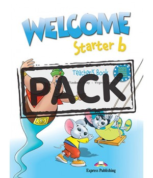 Книга для учителя Welcome Starter b Teacher's Book (with Posters)
