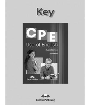 Відповіді CPE Use of English (Revised Edition) Key