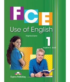 Учебник FCE Use of English 1 (for the updated 2015 exam) Student's Book