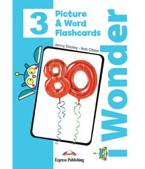 Картки iWonder 3 Picture and Word Flashcards