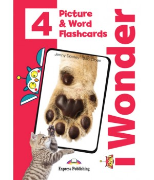Картки iWonder 4 Picture and Word Flashcards