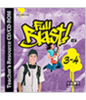 Диск Full Blast Teacher's Resource Pack (CD-ROM) 3-4