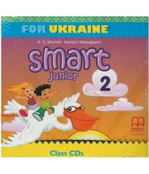 Диск Smart Junior for Ukraine 2 Class Audio CD