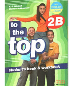 Учебник To the Top 2B Split Edition with Culture Time for Ukraine Student's Book + Workbook with CD-ROM