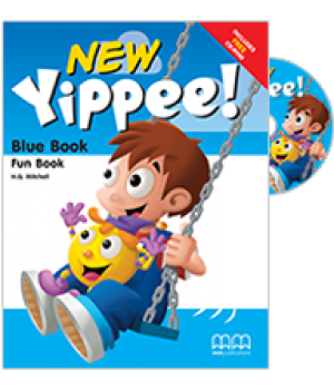 Підручник Yippee New Blue Fun Book with CD-ROM