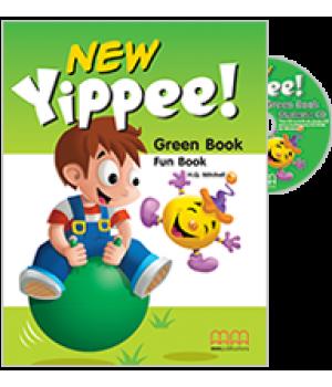 Підручник Yippee New Green Fun Book with CD-ROM