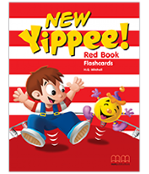 Карточки Yippee New Red Flashcards