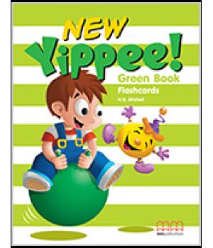 Карточки Yippee New Green Flashcards
