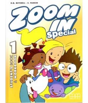 Підручник Zoom in 1 Ukrainian Edition Student's Book + Workbook + CD-ROM