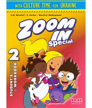 Підручник Zoom in 2 with Culture Time for Ukraine Student's Book + Workbook + CD-ROM